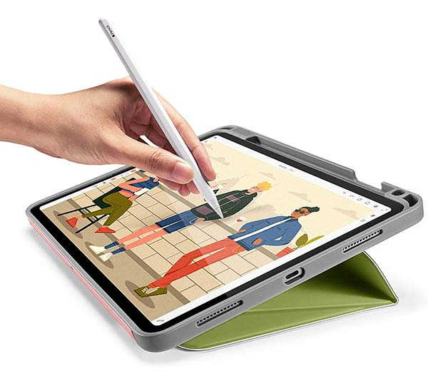 Tomtoc iPad Air 4 Case with Magnetic Kickstand