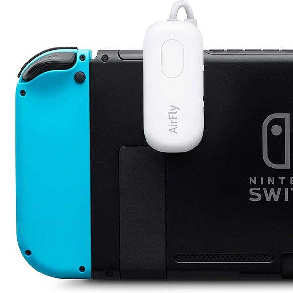 Twelve South AirFly Bluetooth Adapter for Nintendo Switch and Switch Lite