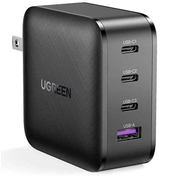 UGREEN GaN USB-C Charger with 4 Ports and 65W PD