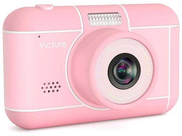 Victure Kids Camera Supports 1080p Recording and 18MP Stills