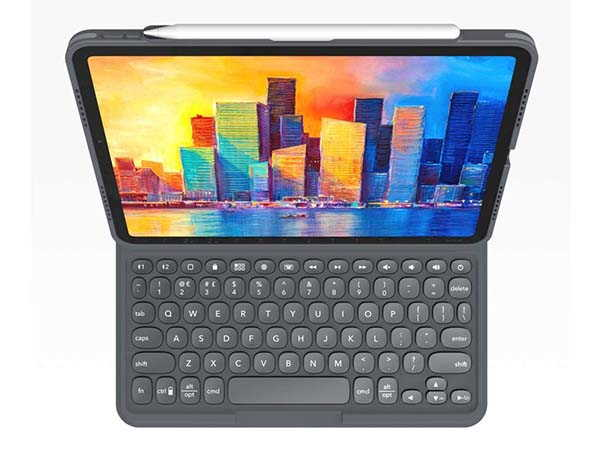 ZAGG Pro Keys iPad Air 4 Keyboard Case with Apple Pencil Holder