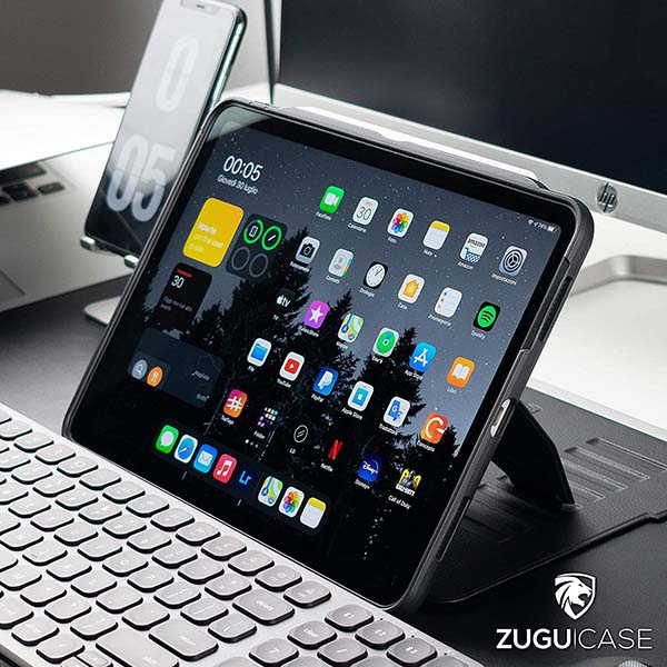 ZUGU Alpha 10.9-Inch iPad Air Case with Magnetic Stand