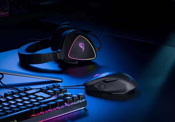 ASUS ROG Chakram Core Wired Gaming Mouse with Programmable Joystick