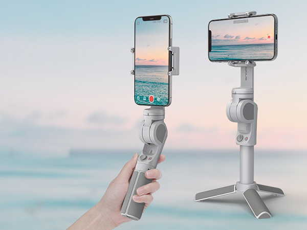 Atom 2 Auto-Foldable 3-Axis Phone Stabilizer with Built-in Tripod