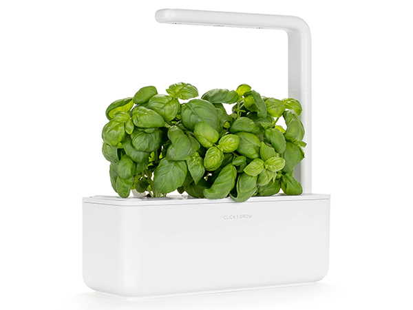 Click & Grow Smart Garden 3 with Basil Plant Pods
