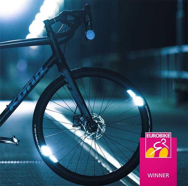 Flectr 360 Omni Bike Wheel Reflector with 360-Degree Visibility