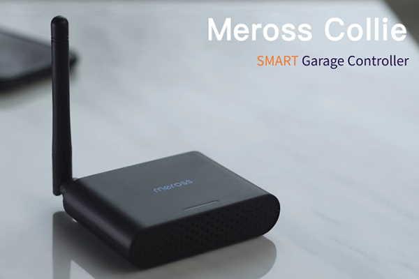 Meross Collie Smart Garage Door Controller Supports Apple HomeKit, Alexa and Google Home