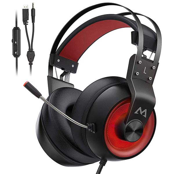 Mpow EG3 Pro Wired Gaming Headset with 7.1 Surround Sound