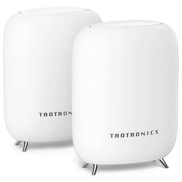 TaoTronics TT-ND001 Tri-Band Mesh WiFi System Supports NAS Cloud Storage