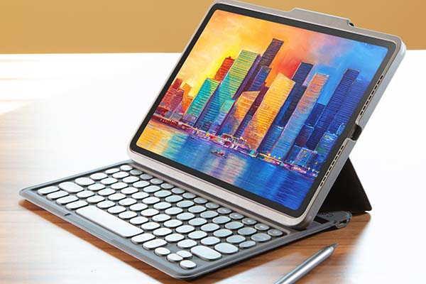 ZAGG Pro Keys 10.2-Inch iPad Wireless Keyboard with Detachable Case