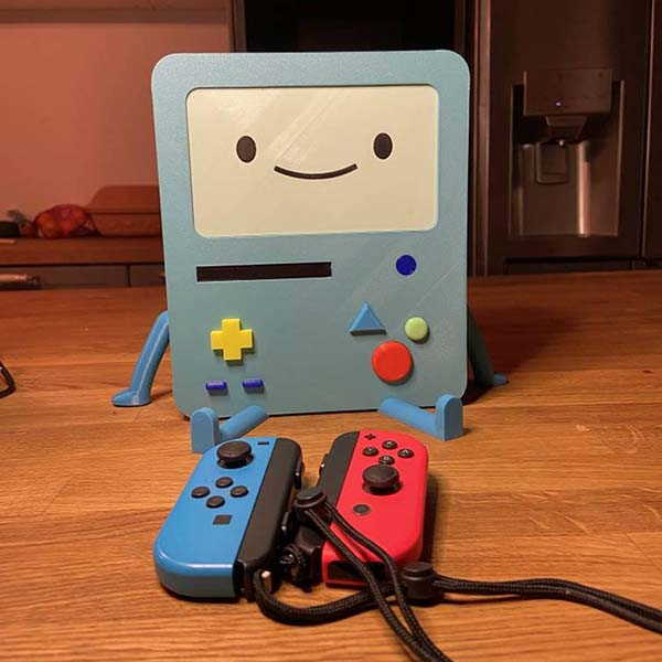 3D Printed Adventure Time BMO Nintendo Switch Charging Dock