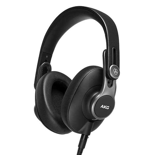 AKG Pro Audio Podcaster Essentials Kit with Lyra USB-C Microphone and K371 Headphones