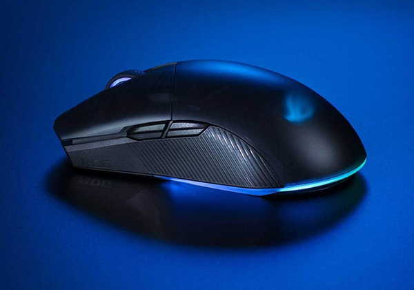 ASUS ROG Pugio II Wireless Gaming Mouse with Bluetooth and 2.4GHz Connectivity