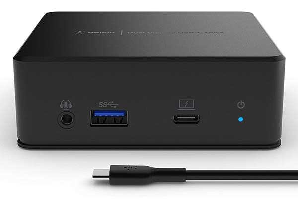 Belkin DisplayLink USB-C Docking Station with Dual HDMI Ports