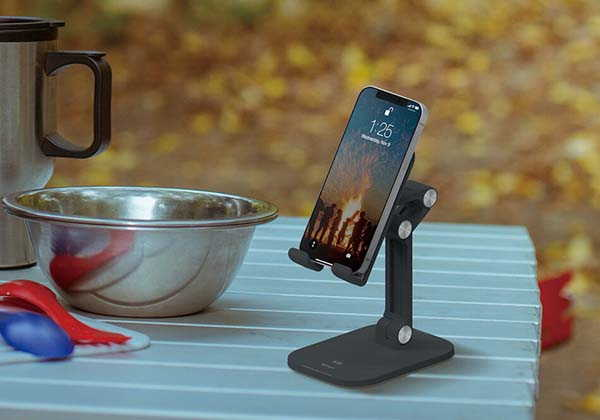 Elago M5 Foldable Phone Stand with 4 Adjustable Pivots