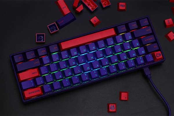 Epomaker AKKO NEON 3061 Compact Bluetooth Mechanical Keyboard with RGB Backlit