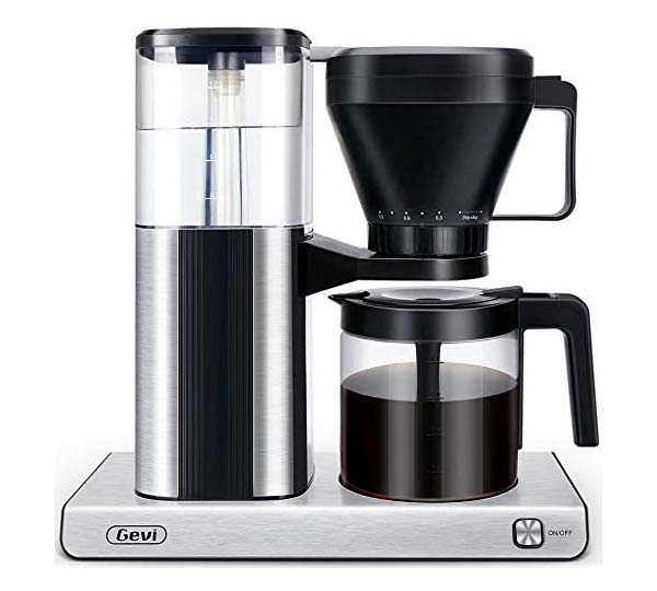 Gevi One-Touch Automatic Coffee Maker with Strength Control