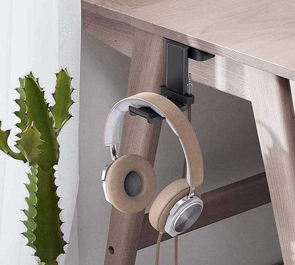 Lamicall Headset Hanger with Cable Organizer