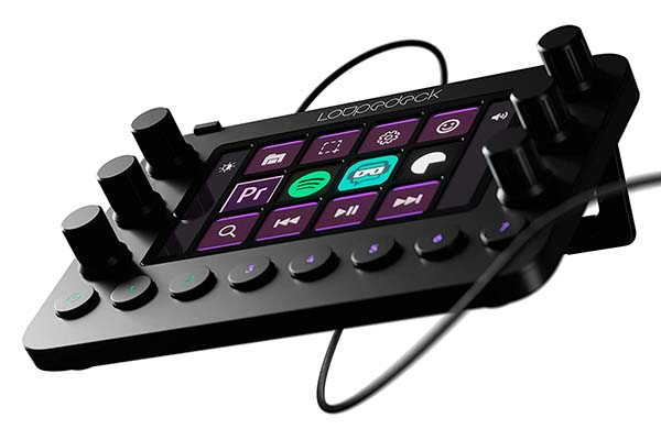 Loupedeck Live Custom Console for Living Streaming, Photo and Video Editing and More