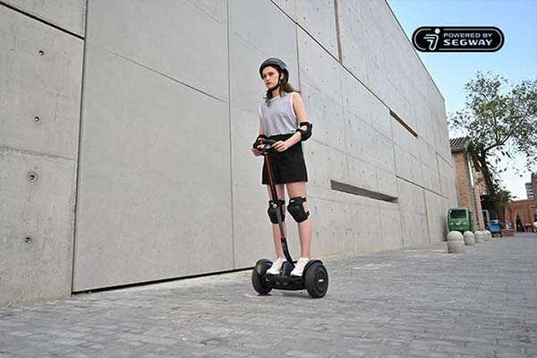 Ninebot S Max Self-Balancing eScooter with Steering Wheel