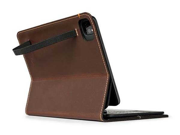 Pad&Quill Oxford iPad Air 4 Leather Case with Interior Pocket