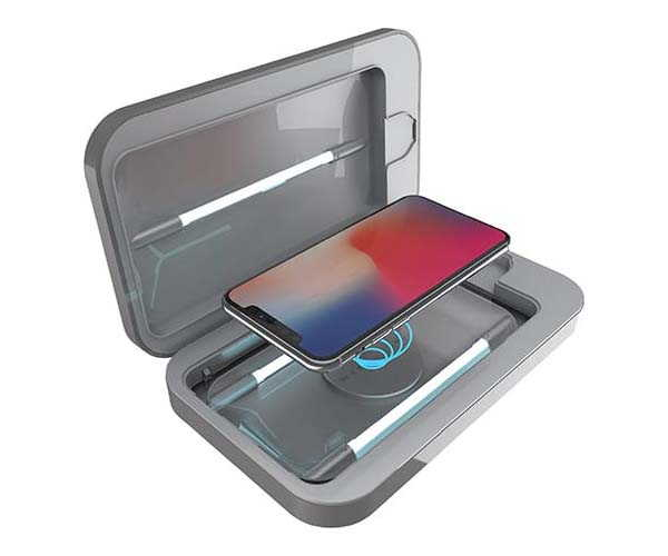 PhoneSoap Wireless UV Sanitizer with Built-in Wireless Charger