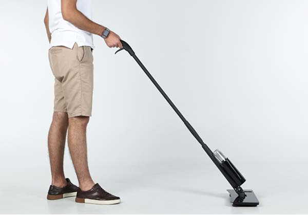 Polly Solar-Powered Cleaning Mop with UV Light