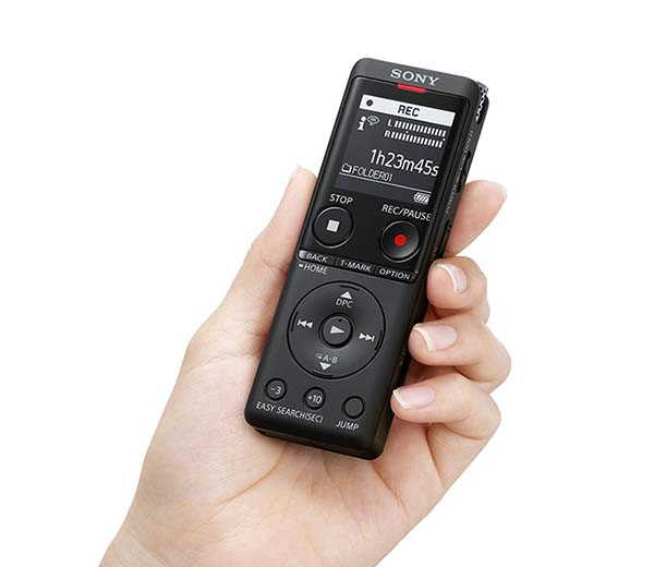 Sony ICD-UX570 Digital Voice Recorder with Stereo Microphone