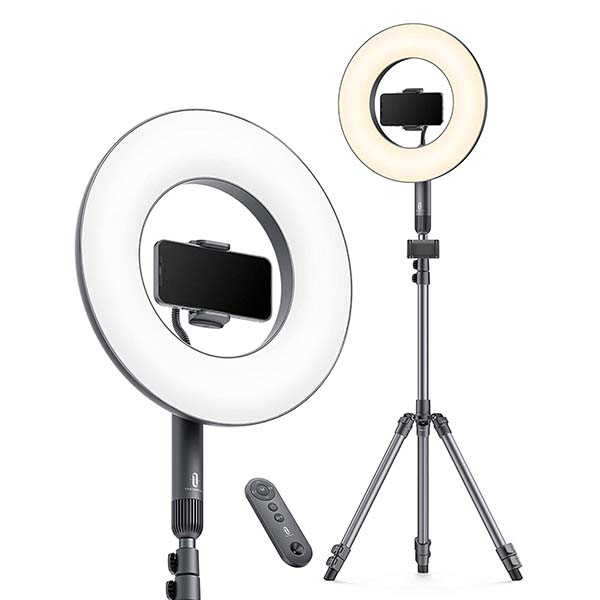 TaoTronics Selfie LED Ring Light with Tripod