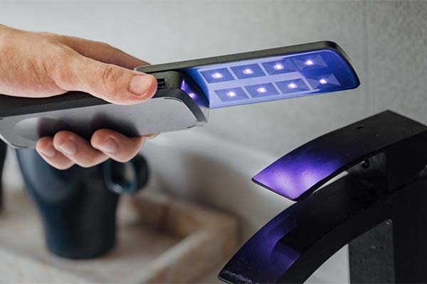 UVCliin Handheld UVC Sanitizer Doubles as Portable Power Bank