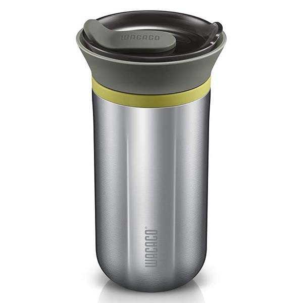 WACACO Cuppamoka Portable Coffee Maker and Insulated Stainless Steel Mug