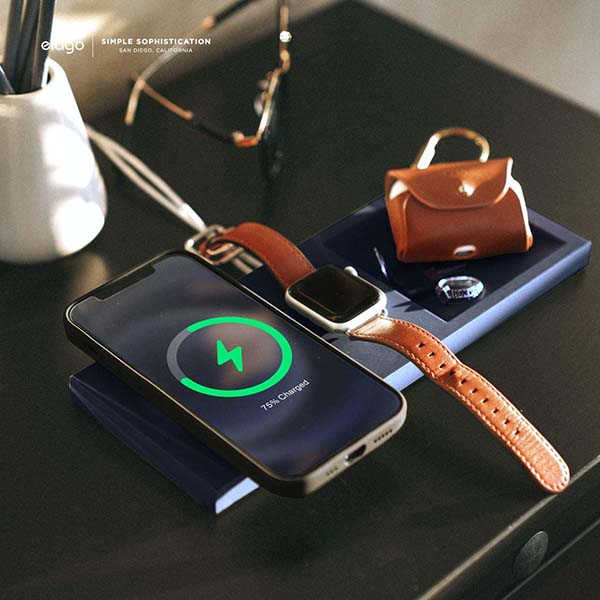 Elago MS Wireless Charging Station with Organizer Tray