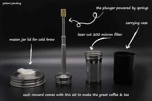 FinalPress Ultra Portable Coffee and Tea Maker