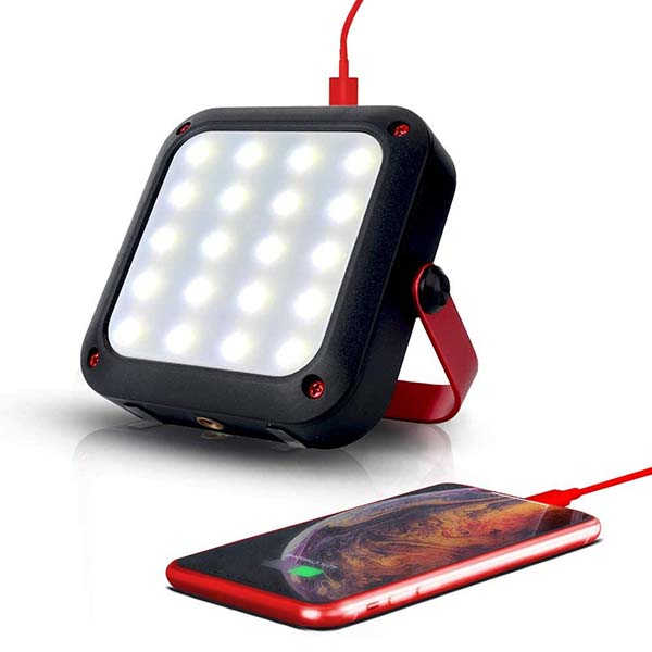 Geartist 1000LM Waterproof LED Camping Lantern and Portable Power Bank