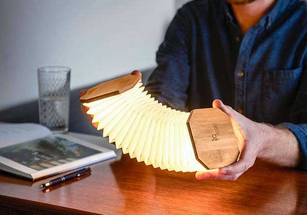 Gingko Accordion LED Accent Lamp