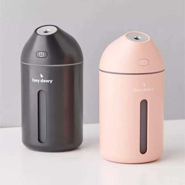 Hey Dewy Portable Facial Humidifier with LED Light