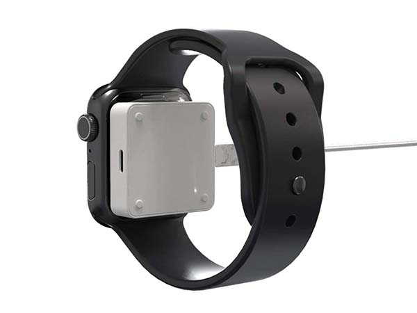 iFory Portable Apple Watch Charger with Lightning and USB-C Port