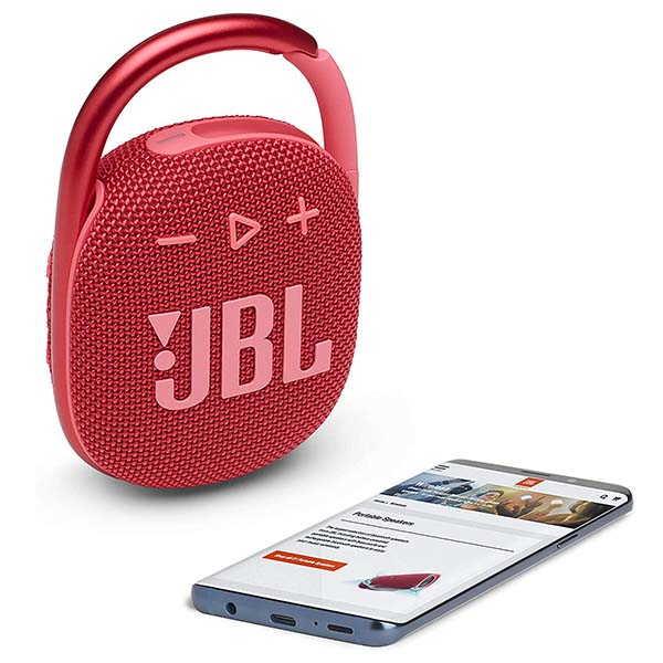 JBL Clip 4 Mini Bluetooth Speaker with IP67 Waterproof Rating