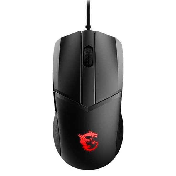 MSI Clutch GM41 Lightweight Gaming Mouse with RGB Lighting