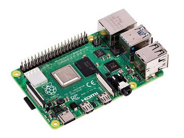 Raspberry Pi 4 Model B with Dual Micro HDMI Ports