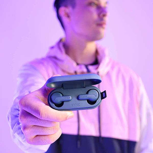 Soul Sync ANC True Wireless Earbuds with Transparency Mode