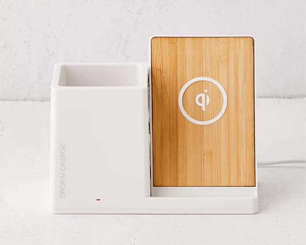 The Desk Organizer with Wireless Charging Stand