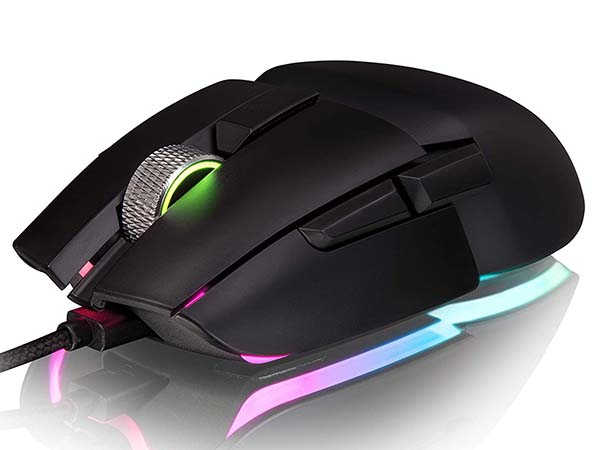 Thermaltake Argent M5 Ambidextrous Gaming Mouse with RGB Lighting