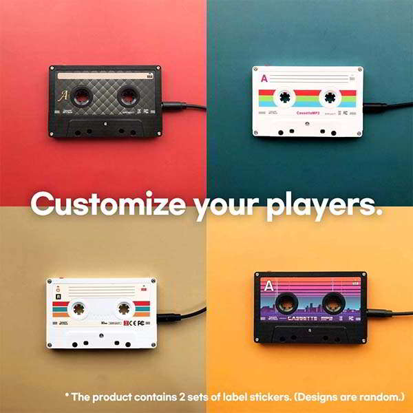8BEAT Cassette MP3 Player with 8GB Storage