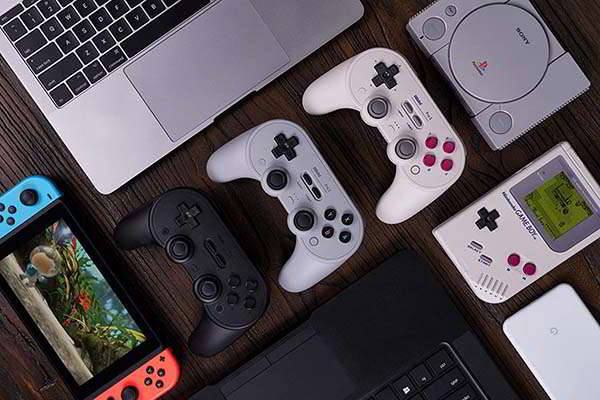 8Bitdo Pro 2 Bluetooth Gamepad for Switch, PC, macOS, Android, and Raspberry Pi