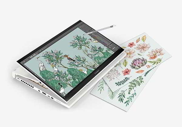 Acer ConceptD 3 Ezel Convertible Creator Laptop with Wacom AES 1.0 Pen