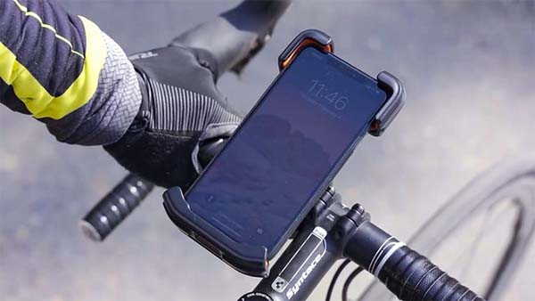 Andobil Bike Phone Mount with Shockproof Protection, 360-Degree Rotation and More