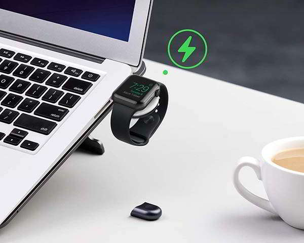 Anker Portable Magnetic Apple Watch Charger with USB-A Connector