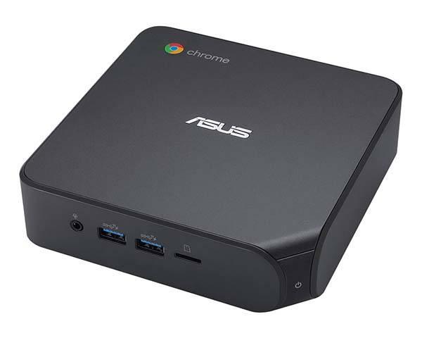 ASUS Chromebox 4 Mini Desktop Computer with VESA Mount