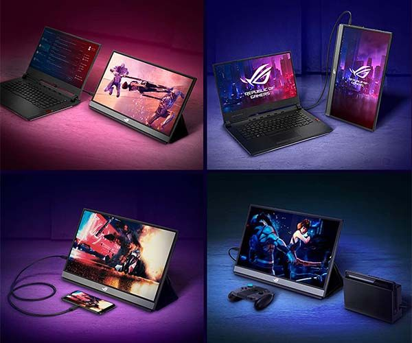 ASUS ROG Strix XG17AHPE 17.3-Inch Portable Gaming Monitor with 240Hz Refresh Rate